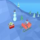 >飞行的圣诞老人