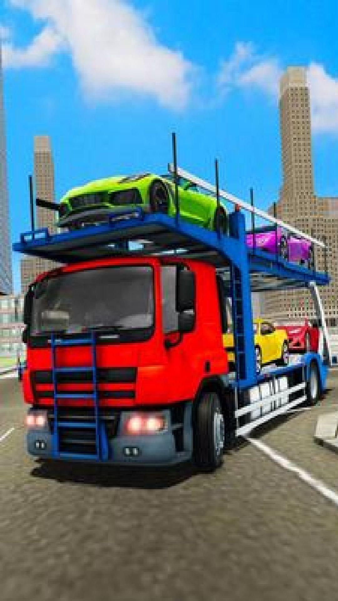 多卡车汽车运输游戏