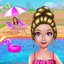 公主的泳池派对