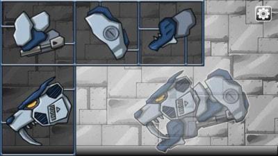 猎豹组装机器人游戏