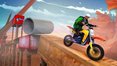 摩托车特技2021游戏
