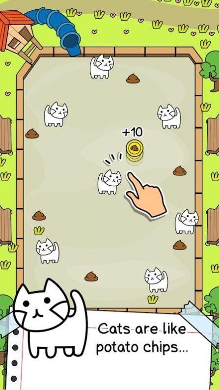 猫咪进化疯狂合并