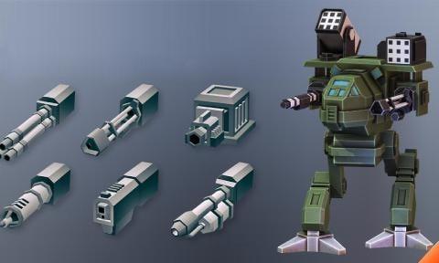 像素机器人战场(图1)