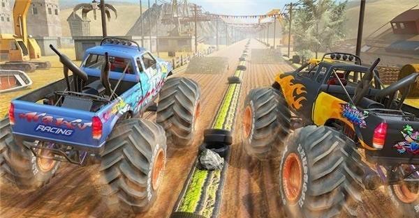 沙漠怪兽卡车赛车特技(图4)